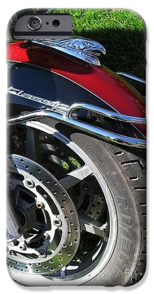 Michelin iPhone Cases - Cool Wheel iPhone Case by Ausra Paulauskaite
