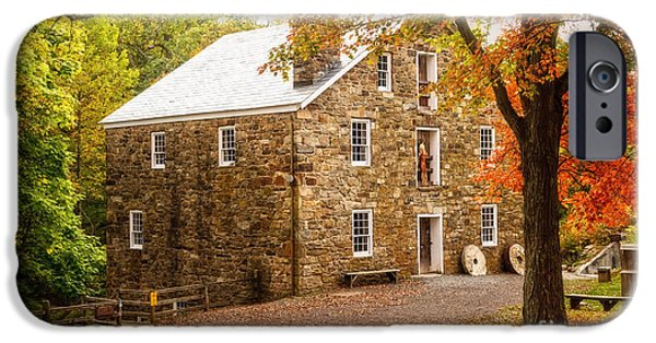 Grist Mill iPhone Cases - Cooper Gristmill iPhone Case by Debra Fedchin