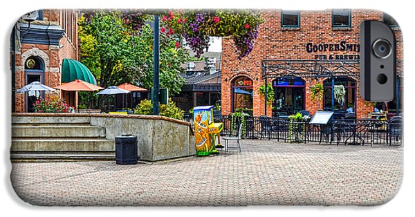 Fort Collins iPhone Cases - Cooper Smiths Pub iPhone Case by Keith Ducker
