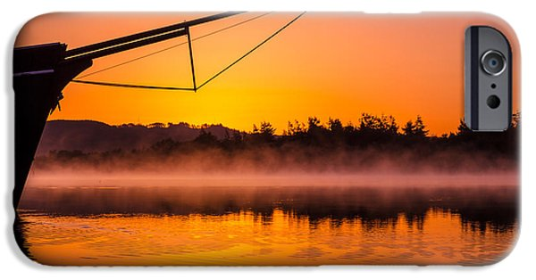Coos iPhone Cases - Coos Bay Sunrise II iPhone Case by Robert Bynum