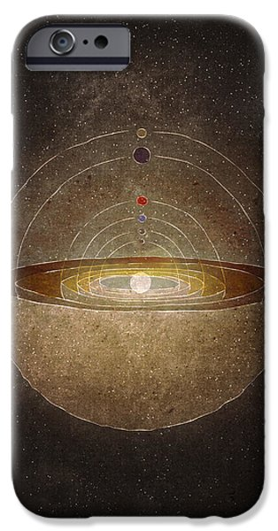 Copernicus iPhone Cases - Copernicus iPhone Case by Joanna Kleczar