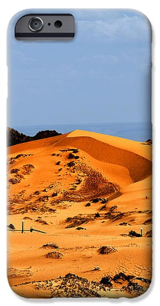 Coral Pink Sand Dunes Utah iPhone Case by Christine Till