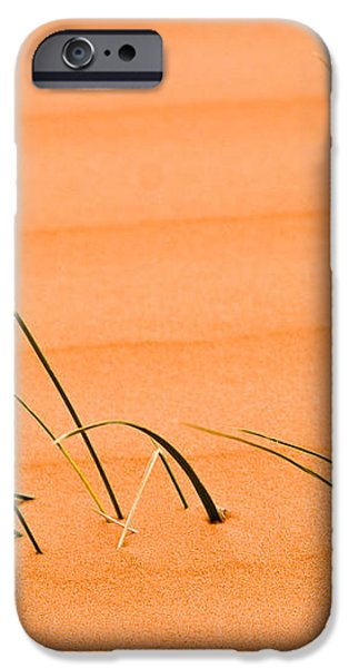Coral Pink Sands 1 iPhone Case by Adam Romanowicz