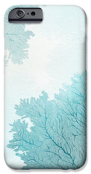 Beach iPhone Cases - Coral iPhone Case by Randoms Print