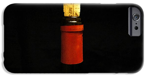Winetasting iPhone Cases - Corked iPhone Case by Laurie Perry