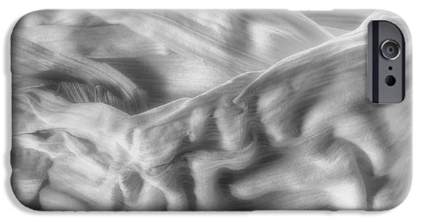 Fine Art Abstract iPhone Cases - Corn Husk - A Beautiful Chaos iPhone Case by Tom Mc Nemar