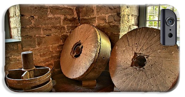 Grist Mill iPhone Cases - Corn Wheels iPhone Case by Adam Jewell
