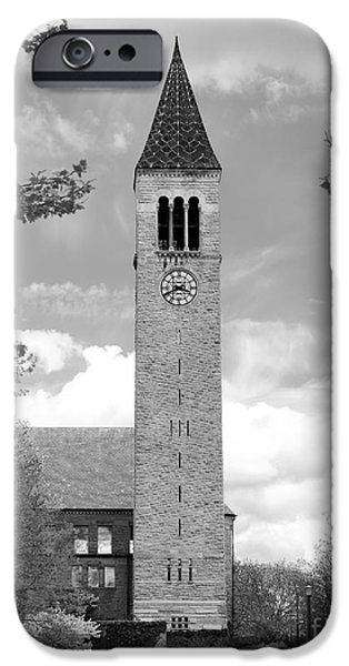 Retirement iPhone Cases - Cornell University Mc Graw Tower iPhone Case by University Icons