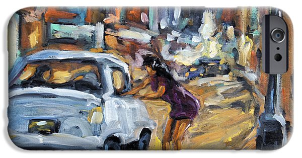 Interior Scene iPhone Cases - Corner Deal by Prankearts iPhone Case by Richard T Pranke