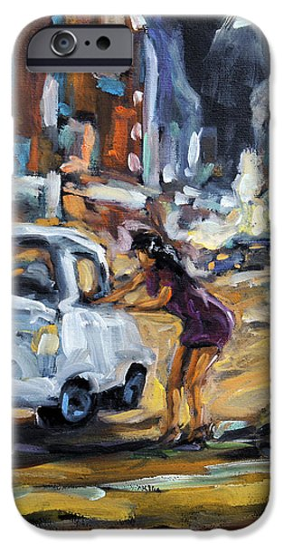Corner Deal by Prankearts iPhone Case by Richard T Pranke