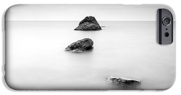 Michael Photographs iPhone Cases - Cornish Seascape  iPhone Case by John Farnan