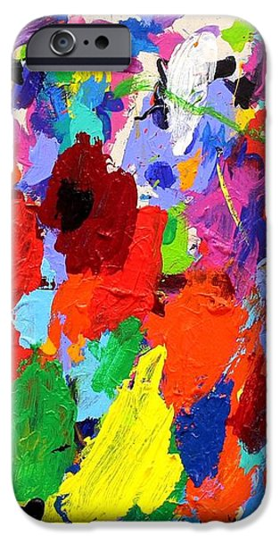 Cornucopia Of Colour I iPhone Case by John  Nolan