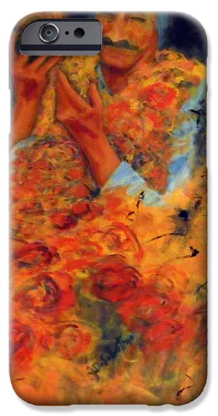 Baba Paintings iPhone Cases - Cornucopia of Love iPhone Case by Joe DiSabatino