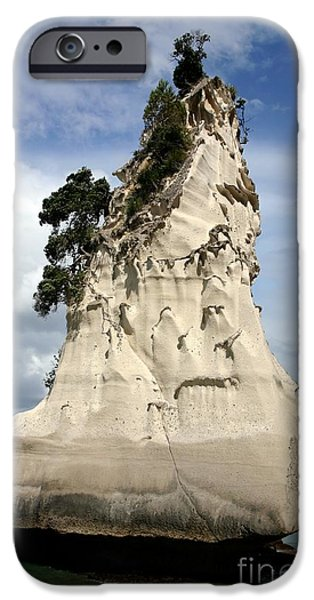 Cathedral Rock iPhone Cases - Coromandel Rock iPhone Case by Barbie Corbett-Newmin