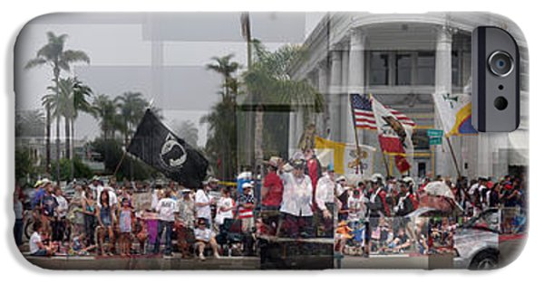 Fourth Of July iPhone Cases - Coronado Fourth of July Parade iPhone Case by Stephen Farley