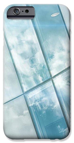 Corporate Flare Reflection iPhone Case by Antony McAulay