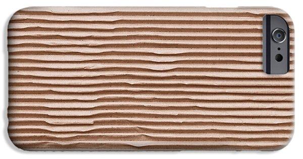 Sheets iPhone Cases - Corrugated cardboard iPhone Case by Tom Gowanlock