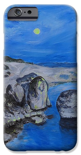 Corsica Bonifaccio Evening iPhone Case by Agnieszka Praxmayer