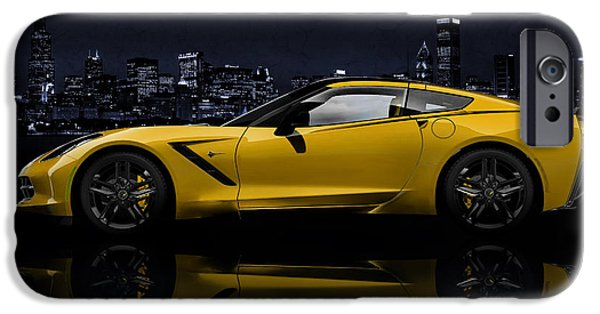 Chevrolet iPhone Cases - Corvette Stingray iPhone Case by Mark Rogan