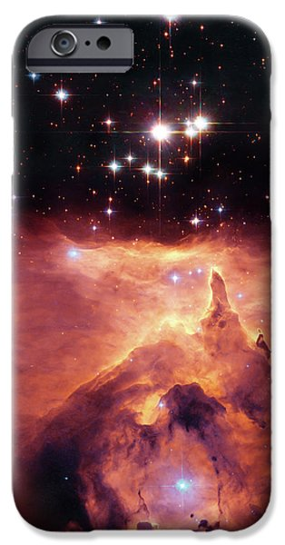 Heaven Photographs iPhone Cases - Cosmic Cave iPhone Case by The  Vault - Jennifer Rondinelli Reilly