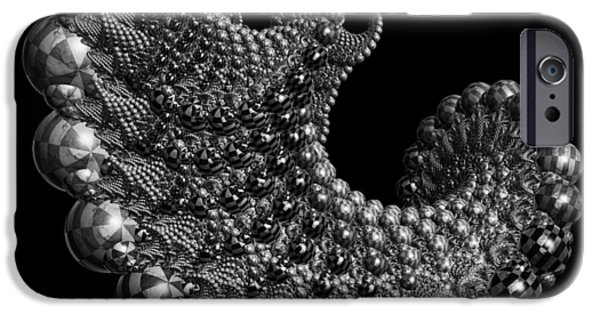 States iPhone Cases - Cosmic Dreams I 56 iPhone Case by Sir Josef  Putsche