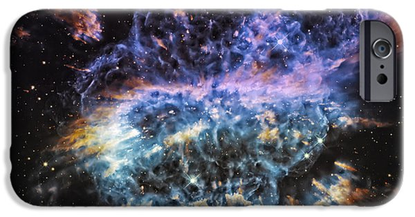 Constellations iPhone Cases - Cosmic Infinity 2 iPhone Case by The  Vault - Jennifer Rondinelli Reilly