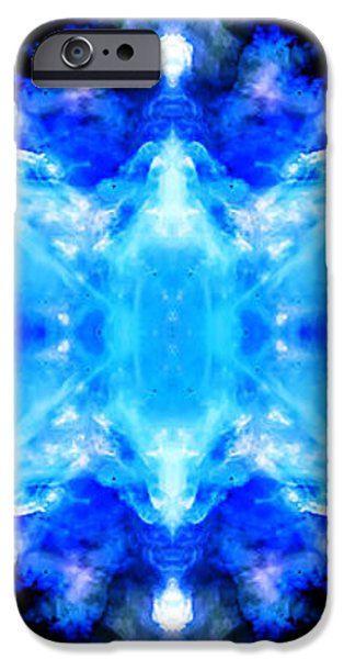 Cosmic Kaleidoscope 1 iPhone Case by The  Vault - Jennifer Rondinelli Reilly