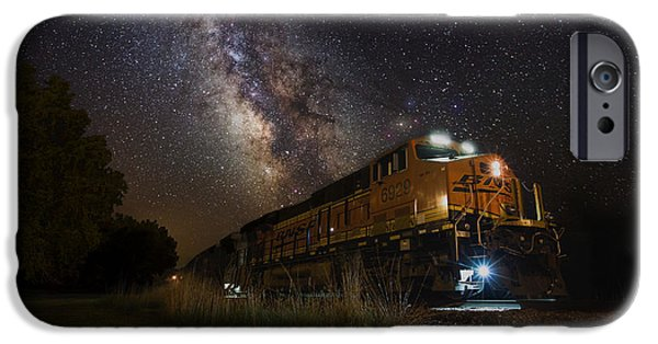 Multiple iPhone Cases - Cosmic Railroad iPhone Case by Aaron J Groen