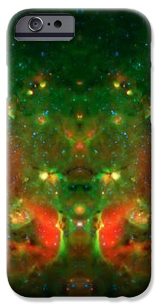 Cosmic Reflection 1 iPhone Case by The  Vault - Jennifer Rondinelli Reilly