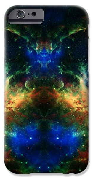 Cosmic Reflection 2 iPhone Case by The  Vault - Jennifer Rondinelli Reilly
