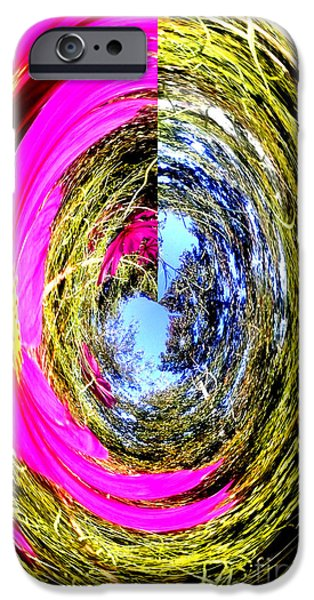 Technical iPhone Cases - Cosmo iPhone Case by Gardening Perfection