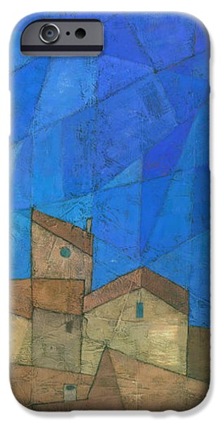 Abstract Seascape iPhone Cases - Cote d Azur II iPhone Case by Steve Mitchell