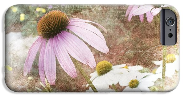 Artography Photographs iPhone Cases - Cottage Garden Flowers iPhone Case by Melissa Bittinger