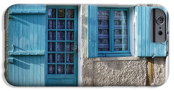 South West France iPhone Cases - Cottage in France iPhone Case by Nomad Art And  Design