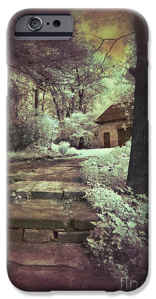 Cottages in the Woods iPhone Case by Jill Battaglia