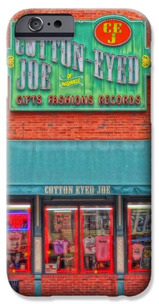 Cotton Eyed Joe iPhone Case by Dan Sproul