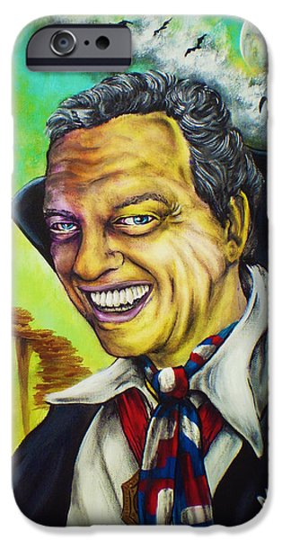 Don Knotts iPhone Cases - Count Furley by Mike Vanderhoof iPhone Case by Mike Vanderhoof