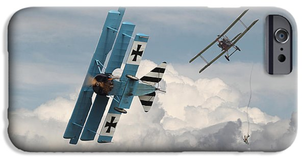 Fokker D V11 iPhone Cases - Counterstrike iPhone Case by Pat Speirs