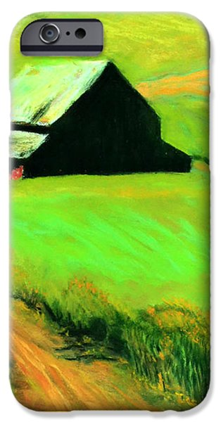 Country Barn iPhone Case by Charles Krause