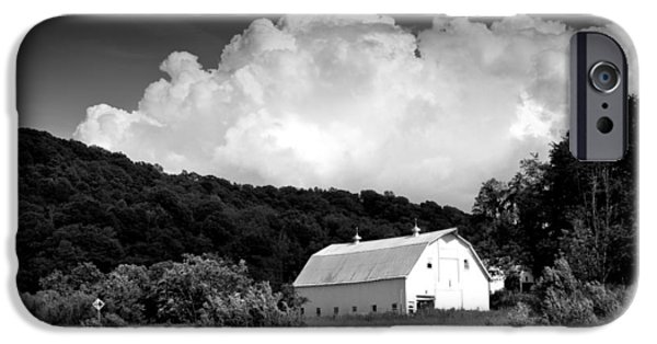Barns iPhone Cases - Country Barn iPhone Case by Shane Holsclaw