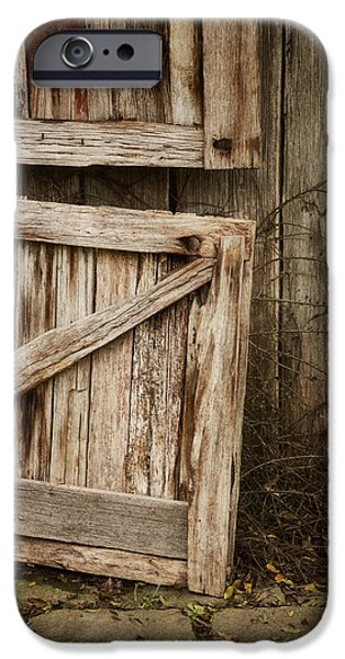 Wood Grain iPhone Cases - Country Charm iPhone Case by Amy Weiss
