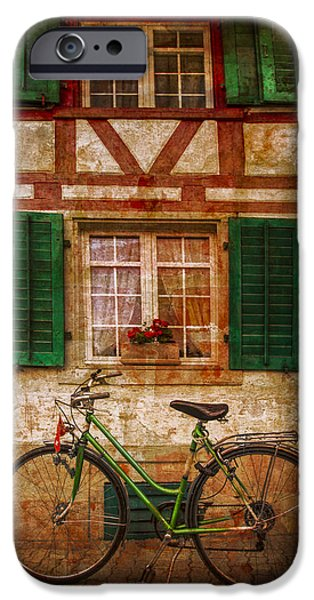 Cabin Window iPhone Cases - Country Charm iPhone Case by Debra and Dave Vanderlaan