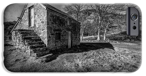 Stone Buildings iPhone Cases - Country Cottage v2 iPhone Case by Adrian Evans