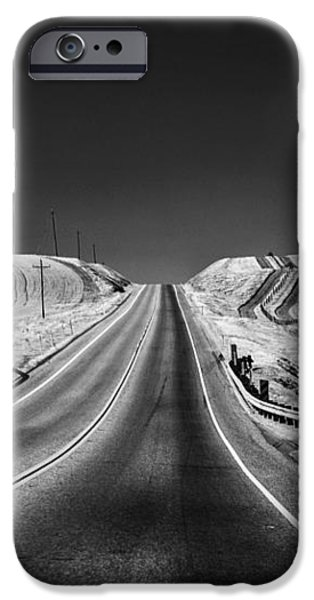 Country Farm Road iPhone Case by Anthony Citro