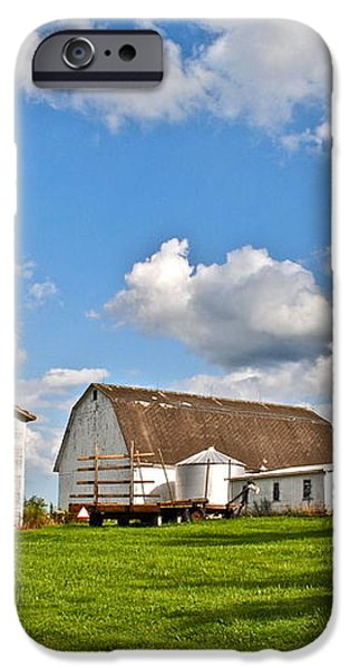 Country Farm iPhone Case by Frozen in Time Fine Art Photography
