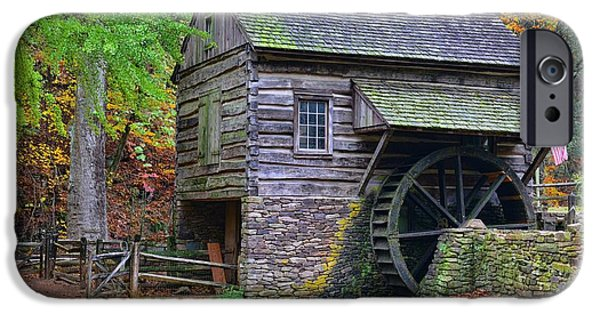 Grist Mill iPhone Cases - Country Grist Mill iPhone Case by Paul Ward