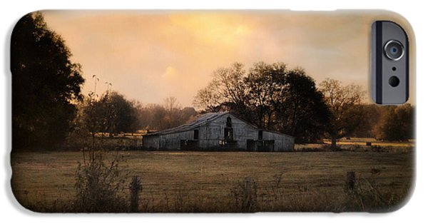 Tennessee Barn iPhone Cases - Country Heirloom iPhone Case by Jai Johnson