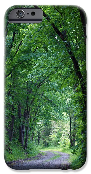 Best Sellers -  - Creek iPhone Cases - Country Lane iPhone Case by Cricket Hackmann