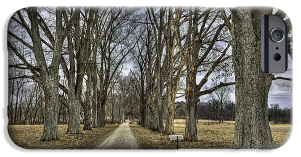 Daviess County Photographs iPhone Cases - Country Lane iPhone Case by Wendell Thompson