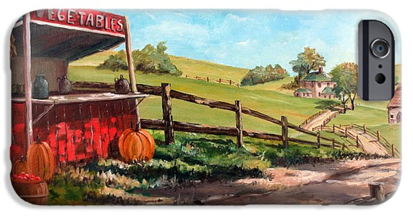 Arkansas iPhone Cases - Country Life iPhone Case by Lee Piper